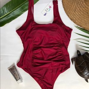 Other - Beautiful Burgundy Swimsuit